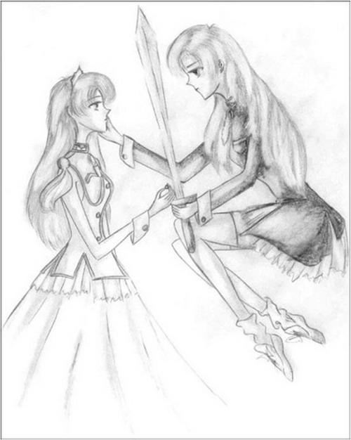 как нарисовать аниме девочку карандашом для начинающих.